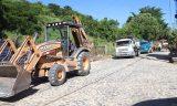 Sucupira inicia, em T. Otôni, drenagem e pavimentação da Turma 37